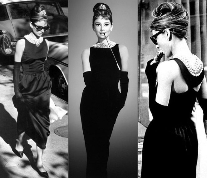 Audrey Hepburn - little black dress - Givenchy
