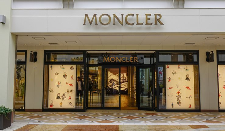 Moncler Boutique at Nagashima Outlet Mall in Mie, Japan.