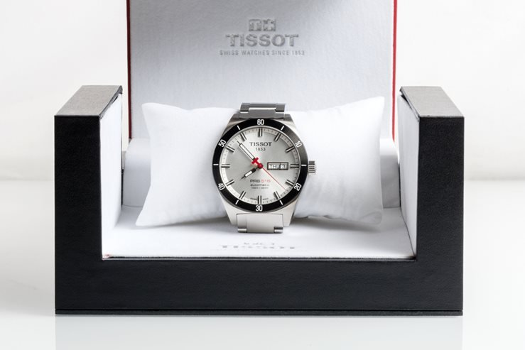Tissot PRS 516 Automatic watch.