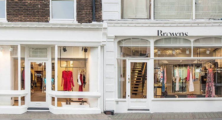 Browns Fashion Boutique in South Molten Street