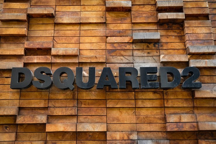 dsquared2 store in Milan