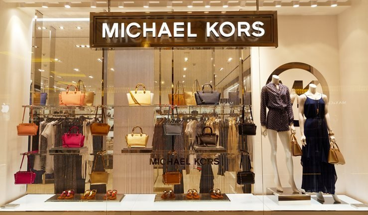 Michael Kors boutique in Rome, Italy.