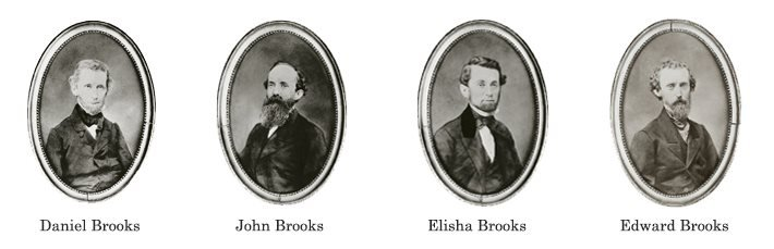The 4 Brook Brothers