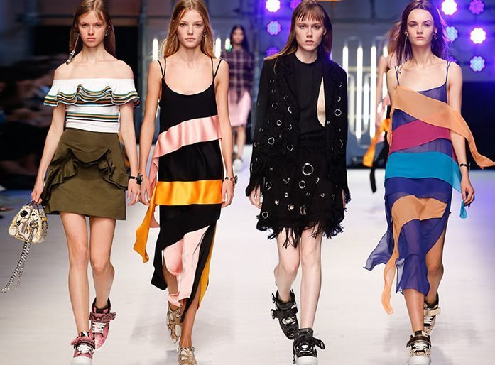 MSGM Spring, Summer 2016 Collection