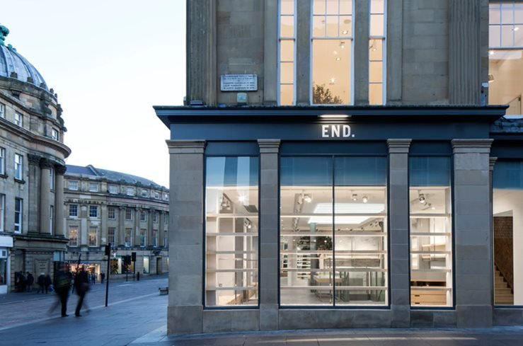 END. Clothing Newcastle Flagship Boutique
