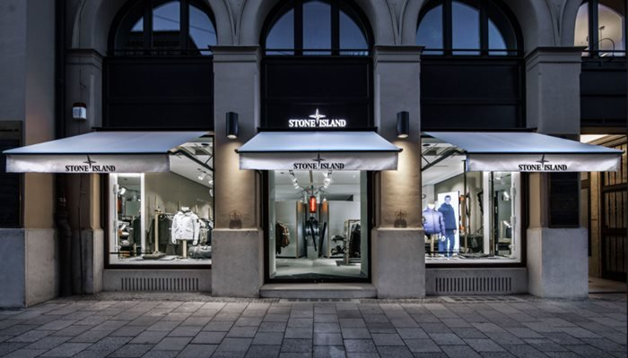 Stone Island Boutique in Munich, Germany.
