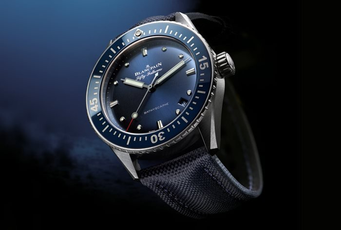 Blancpain Fifty Fathoms Bathyscaphe - Oceantime