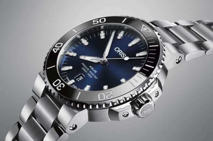 Redesigned Oris Aquis Date 2017 collection