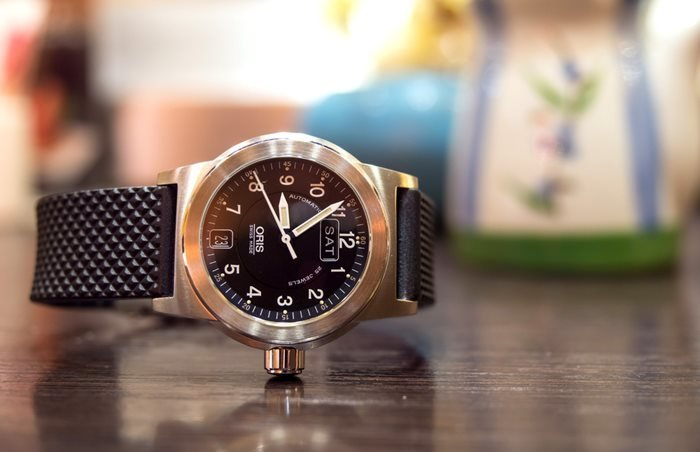 Oris big crown pilot watch.