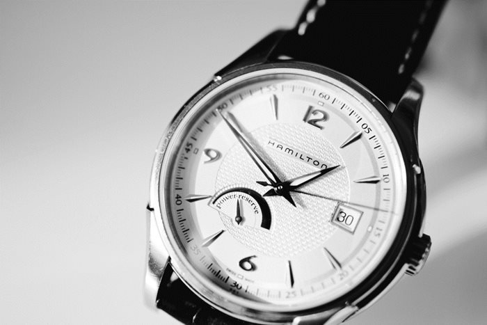 Hamilton Watch Close up