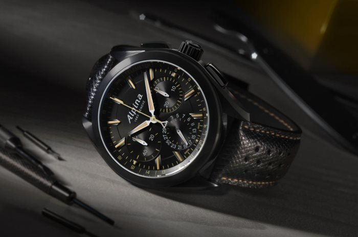 Alpina Watches Alpiner 4 Manufacture Flyback Chronograph