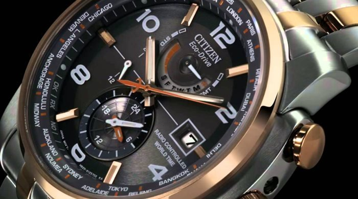 Citizen Eco-Drive Radio Controlled World Time