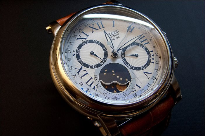 Citizen Eco-Drive Moon Phase Watch