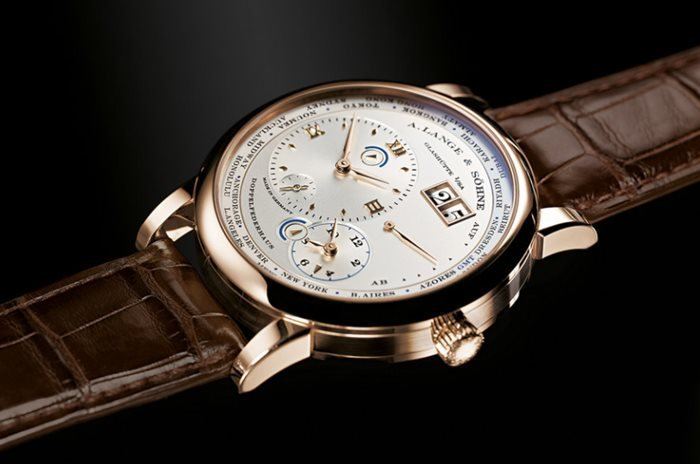 A. Lange & Söhne Special-Edition Lange 1 Time Zone in Honey Gold