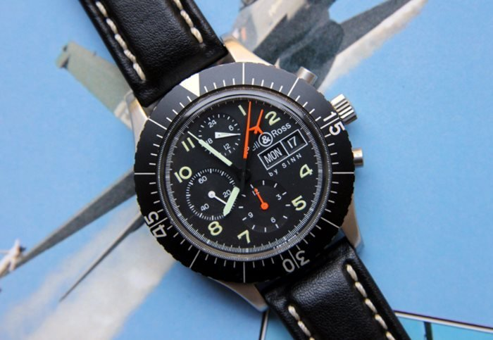 Bell & Ross by Sinn M1-156 Lemania 5100 Chronograph