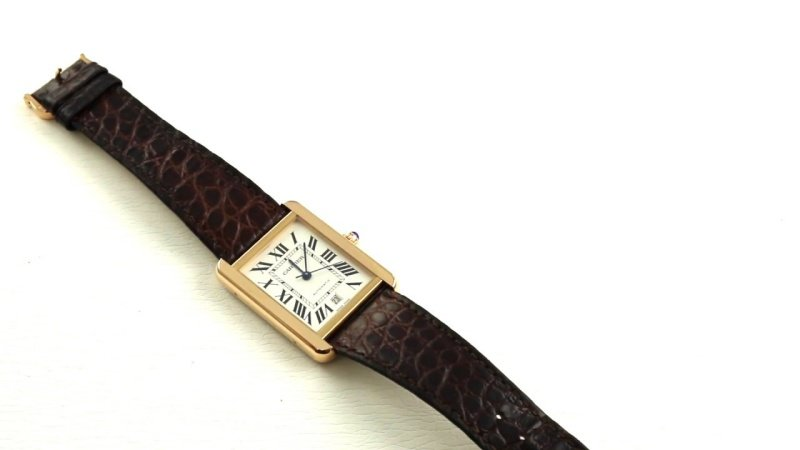 Cartier Tank Solo Watch Review 5