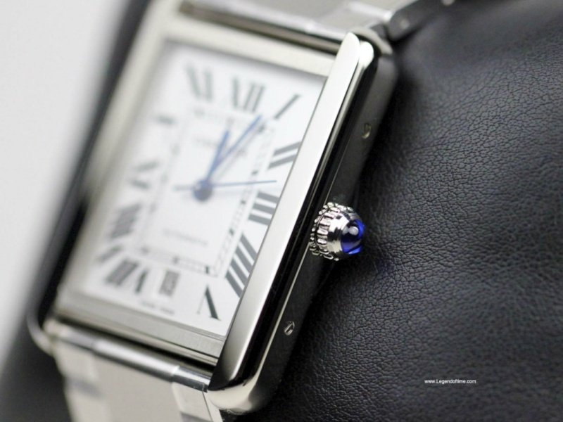 Cartier Tank Solo Watch Review 4