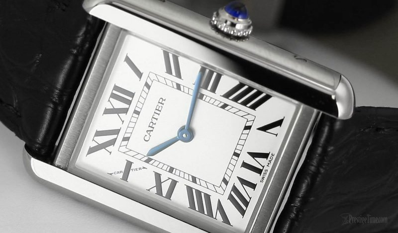 Cartier Tank Solo Watch Review 1