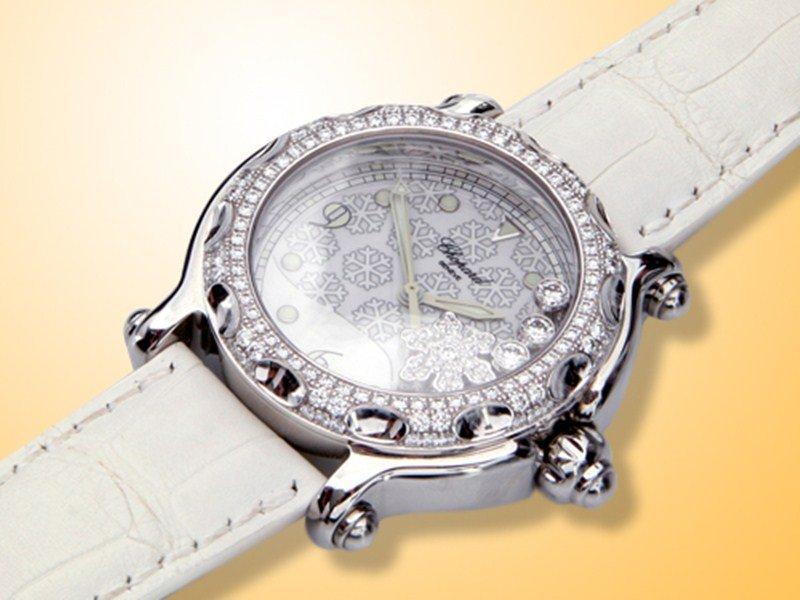 Chopard Happy Snowflake Watch Review 4