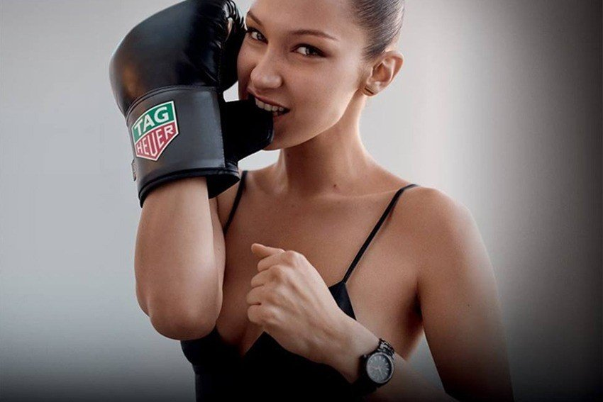 Tag Heuer Bella Hadid Limited-Edition Link Lady Watch Review 4