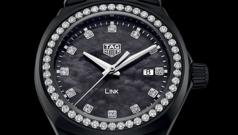 Tag Heuer Bella Hadid Limited-Edition Link Lady Watch Review 3