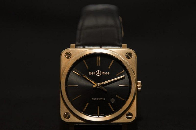 Bell & Ross BR-S Rose Gold Watch