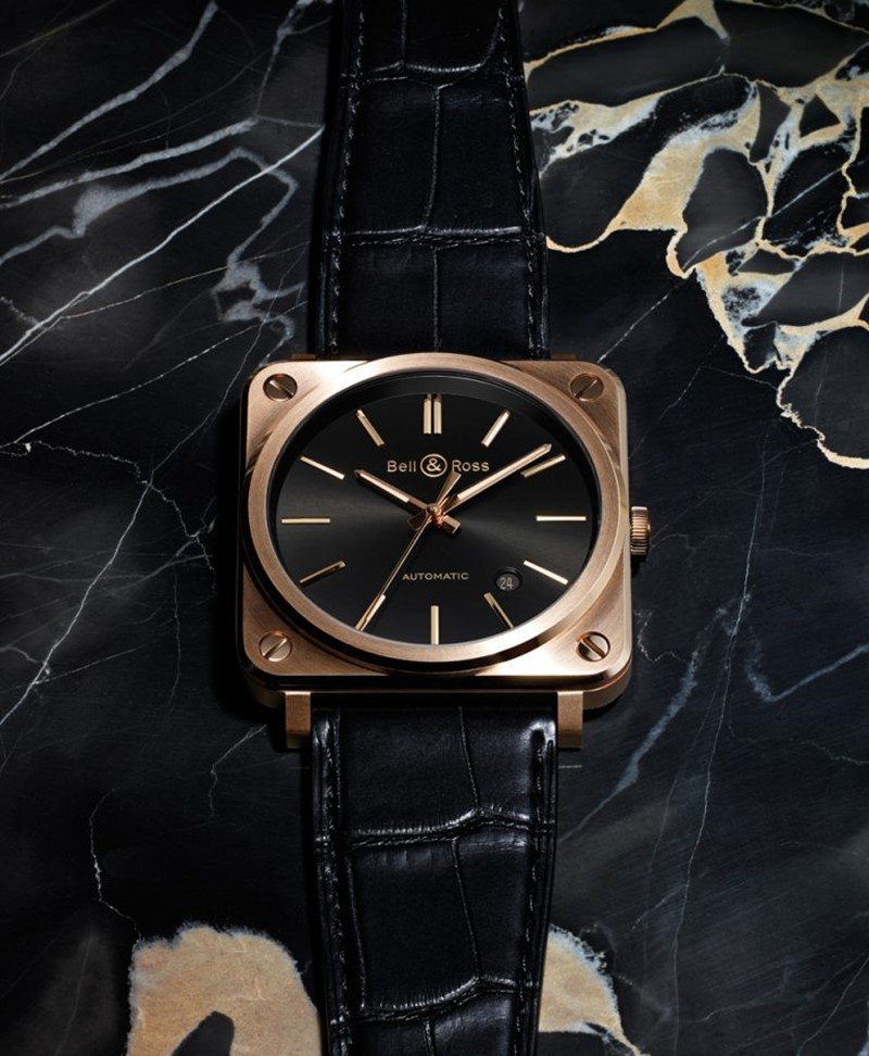 Bell & Ross BR-S Rose Gold Watch 5