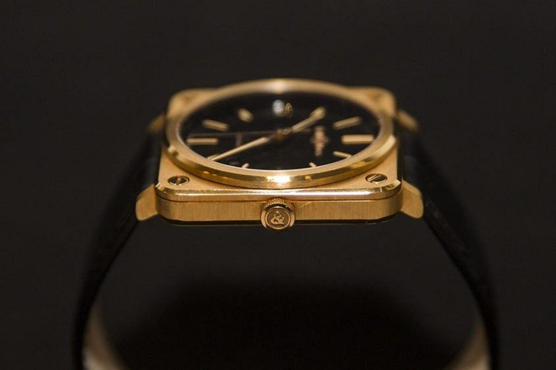 Bell & Ross BR-S Rose Gold Watch 3