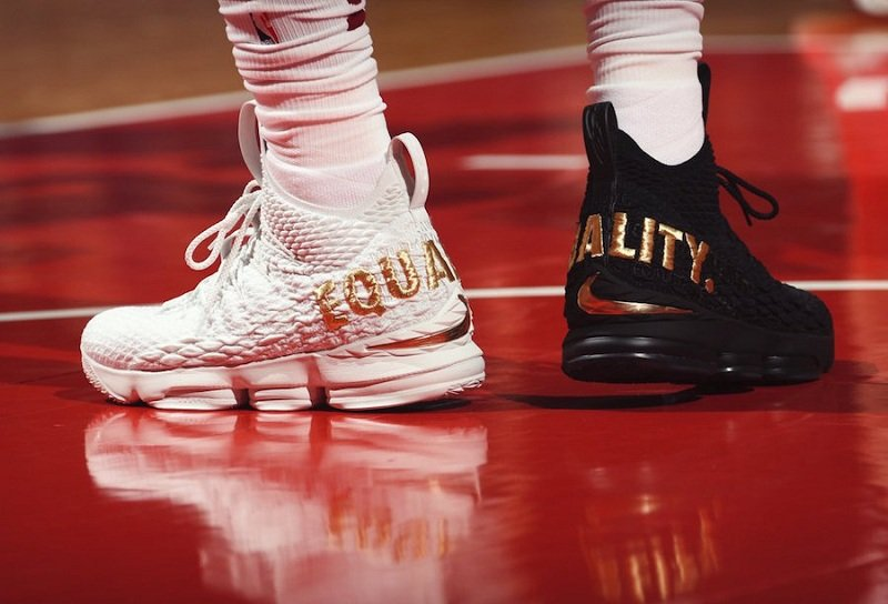 "Nike LeBron 15 ""Equality"" Sneakers Review 2"