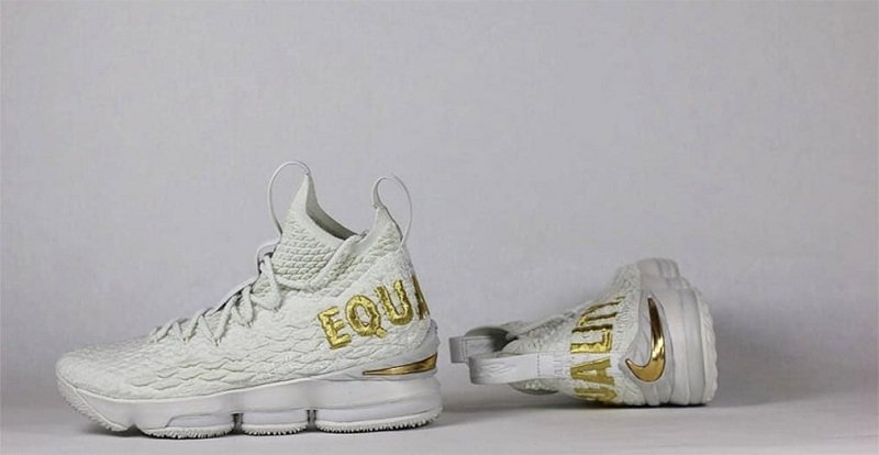 "Nike LeBron 15 ""Equality"" Sneakers Review 8"