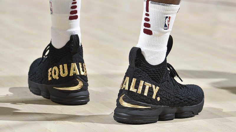 "Nike LeBron 15 ""Equality"" Sneakers Review 4"