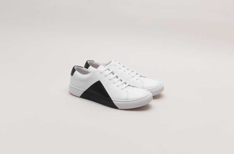 982a8744b1b They New York Triangle Low in White and Black Sneakers Review 2