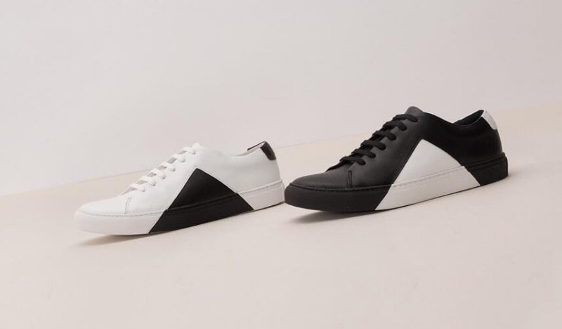575e0607a24 They New York Triangle Low in White and Black Sneakers Review