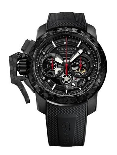 Graham Watch Chronofighter Superlight Carbon Skeleton