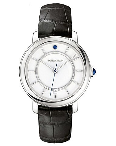 Boucheron Epure white gold and cabochon watch