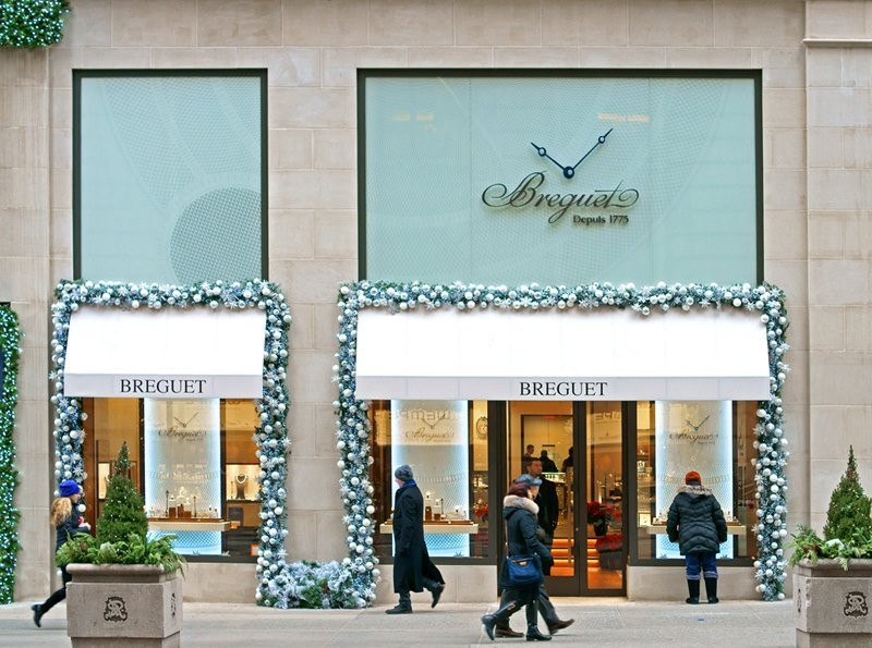 Breguet Boutique in New York, 699 Fifth Avenue