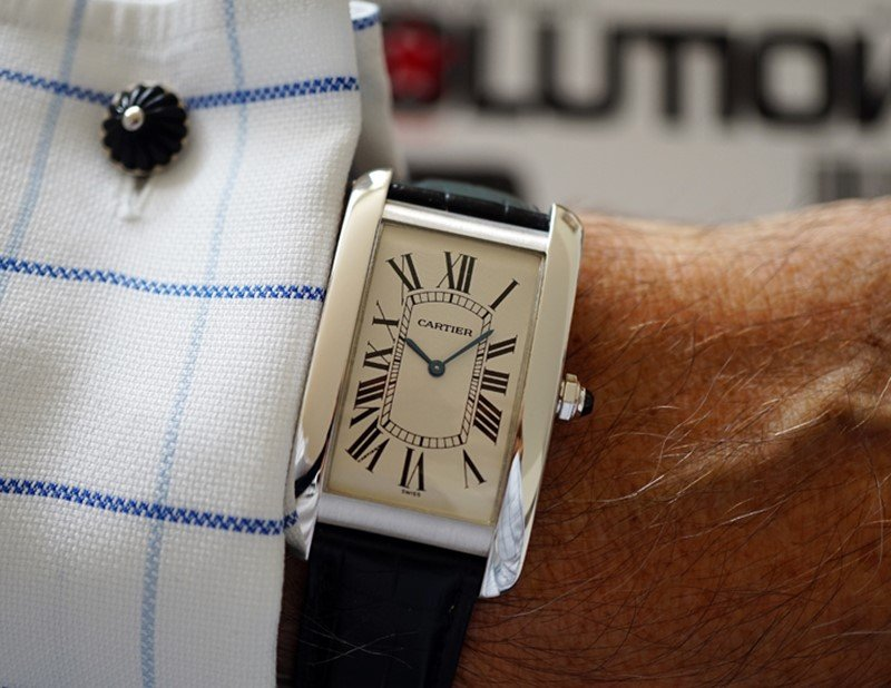 Cartier Tank  Américaine Watch 6