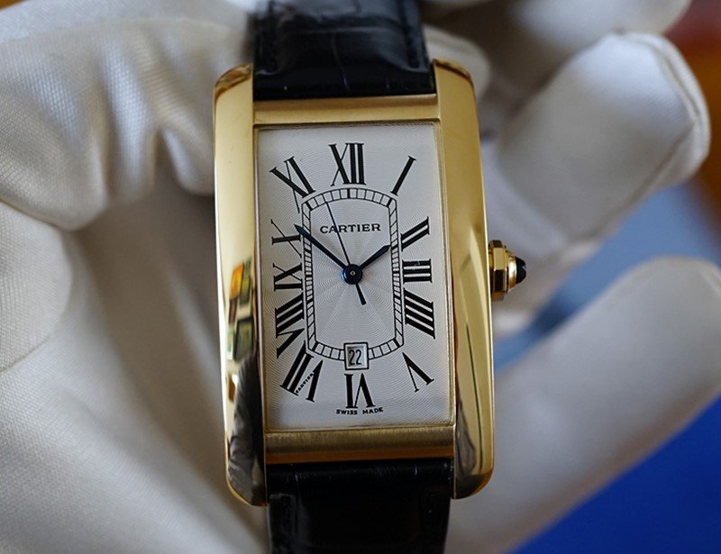 Cartier Tank  Américaine Watch 5
