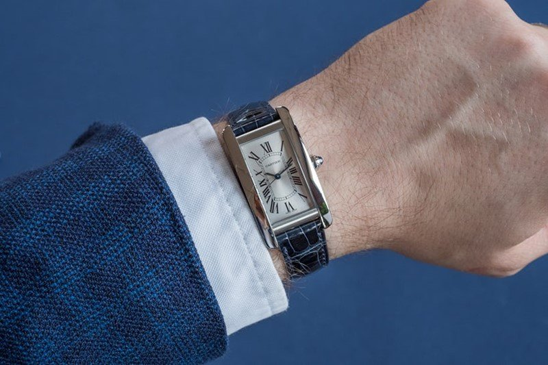Cartier Tank  Américaine Watch 2