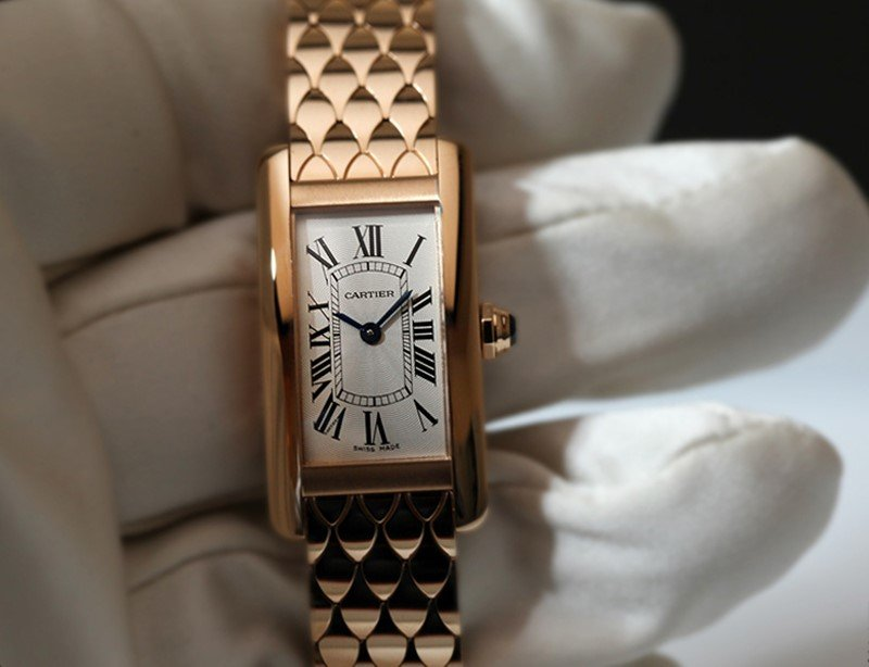 Cartier Tank  Américaine Watch 1