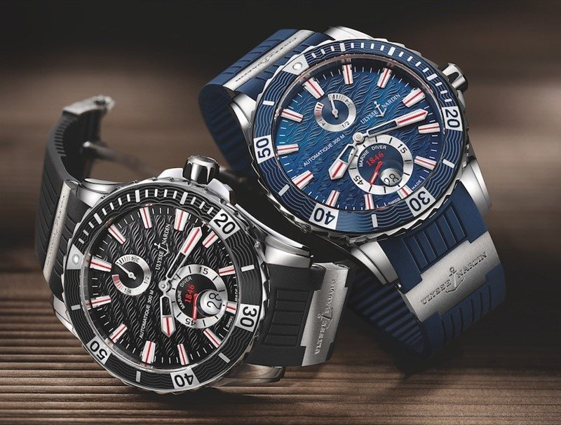 Ulysse Nardin Maxi Marine Diver Chronometer Watch Review
