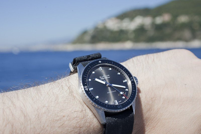 Blancpain Fifty Fathoms Automatique Watch Review 6