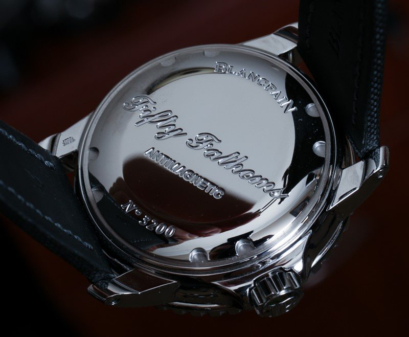 Blancpain Fifty Fathoms Automatique Watch Review 5