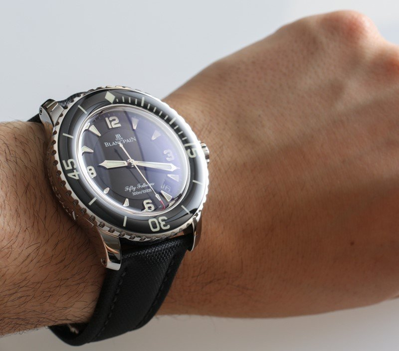 Blancpain Fifty Fathoms Automatique Watch Review 4