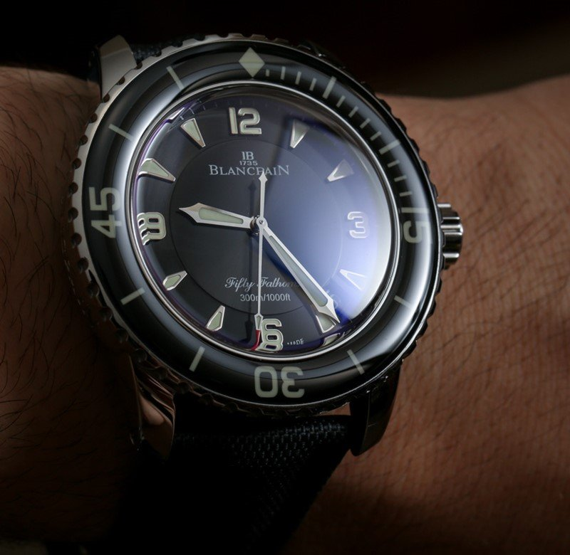 Blancpain Fifty Fathoms Automatique Watch Review 3