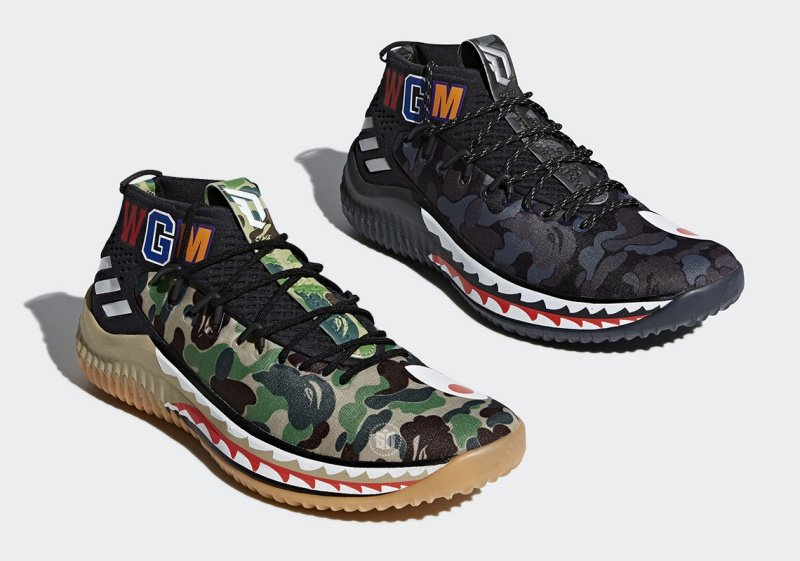 Adidas Dame 4 x Bape Sneakers Review