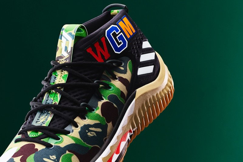 Adidas Dame 4 x Bape Sneakers Review 3
