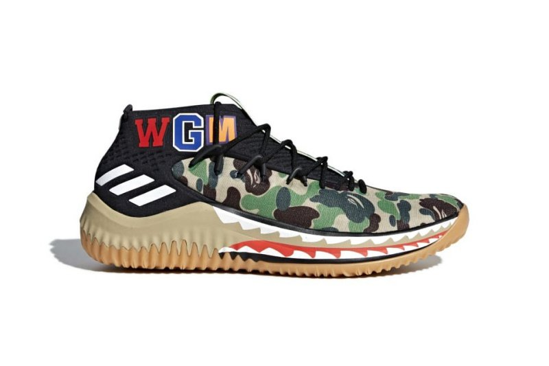 Adidas Dame 4 x Bape Sneakers Review 1