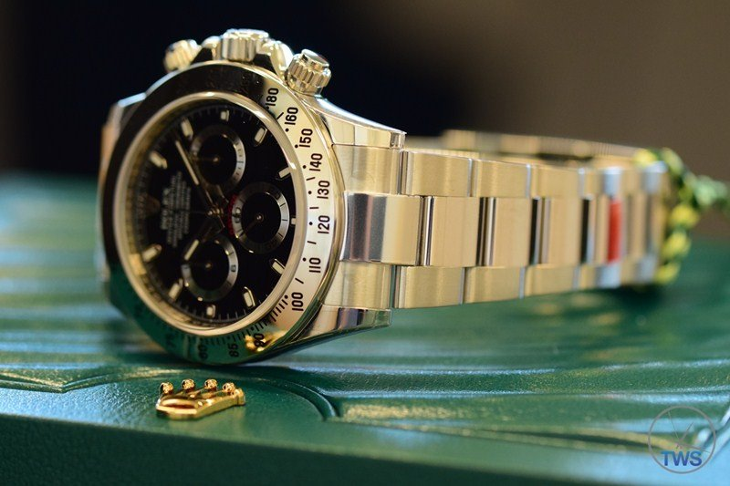 Rolex Cosmograph Daytona Stainless-Steel Watch Review 7