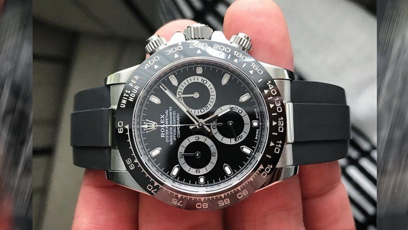 Rolex Cosmograph Daytona Stainless-Steel Watch Review 5